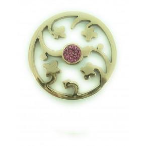 Antica Rose Gold Coin